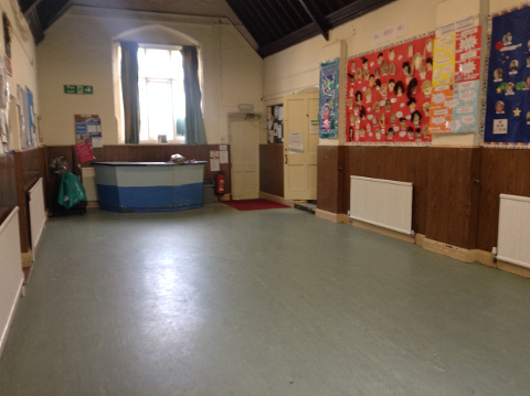 Smaller hall - view 2